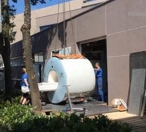 Деинсталляция МРТ Siemens Avanto 1.5T